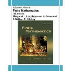 حل المسائل ریاضیات متناهی (لایال، گرینول و ریچی) (ویرایش هشتم 2004)