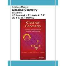 حل المسائل هندسه کلاسیک (لئونارد، لوئیس، لیو و توکارسکی) (ویرایش اول 2014)