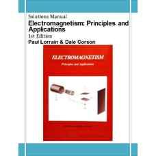 حل المسائل الکترومغناطیس: اصول و کاربردها (لورین و کورسون) (ویرایش اول 1979)