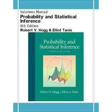 حل المسائل احتمال و استنتاج آماری (هاگ و تانیس) (ویرایش هشتم 2009)