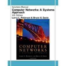 حل المسائل شبکه های کامپیوتری (پترسون و دیوی) (ویرایش چهارم 2007)