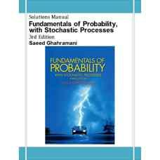 حل المسائل مبانی احتمال همراه با فرآیندهای اتفاقی (قهرمانی) (ویرایش سوم 2004)