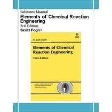 حل المسائل اصول مهندسی واکنش شیمیائی (فاگلر) (ویرایش سوم 1998)