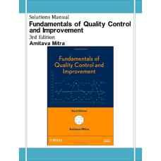 حل المسائل مبانی کنترل و بهبود کیفیت (میترا) (ویرایش سوم 2008)