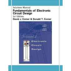 حل المسائل مبانی طراحی مدارهای الکترونیکی (کومر و کومر) (ویرایش اول 2002)