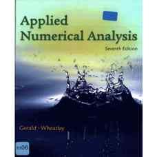آنالیز عددی کاربردی (جرالد و ویتلی) (ویرایش هفتم 2003)