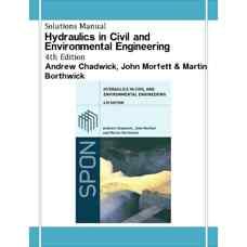 حل المسائل هیدرولیک در مهندسی عمران و محیط زیست (چادویک، مورفت و بورتویک) (ویرایش چهارم 2004)