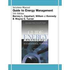 حل المسائل راهنمای مدیریت انرژی (کیپهارت، کندی و ترنر) (ویرایش پنجم 2007)