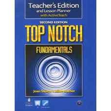 کتاب معلم Top Notch Fundamentals (ساسلو و اچر) (ویرایش دوم 2011)
