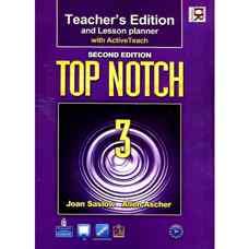 کتاب معلم Top Notch 3 (ساسلو و اچر) (ویرایش دوم 2011)