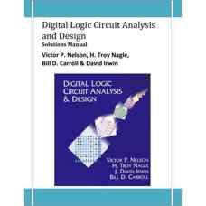 حلالمسائل طراحی و تحلیل مدار منطقی دیجیتال (نلسون، نیگل، کارول و ایروین) (ویرایش اول 1995)