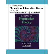 حل المسائل اصول تئوری اطلاعات (کاور و توماس) (ویرایش اول 1991)