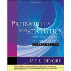 آمار و احتمال برای مهندسی و علوم پایه (دوور) (ویرایش هفتم 2008)