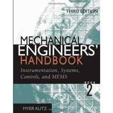 هندبوک مهندسین مکانیک - جلد دوم: ابزاردقیق، سیستم ها، کنترل و MEMS (کوتز) (ویرایش سوم 2005)
