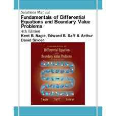 حل المسائل مبانی معادلات دیفرانسیل و مسائل مقدار مرزی (نیجل، سف و دیوید اسنایدر) (ویرایش چهارم 2003)