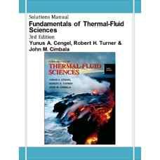 حل المسائل مبانی علوم حرارتی-سیالاتی (سنجل، ترنر و سیمبالا) (ویرایش سوم 2008)