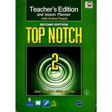 کتاب معلم Top Notch 2 (ساسلو و اچر) (ویرایش دوم 2011)