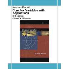 حل المسائل متغیرهای مختلط به همراه کاربرد آن ها (وونچ) (ویرایش سوم 2004)