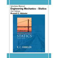 حل المسائل استاتیک (هیبلر) (ویرایش یازدهم 2006)
