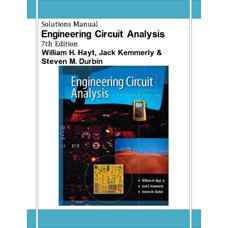 حل المسائل تحلیل مهندسی مدار (هیت، کمرلی و دوربین) (ویرایش هفتم 2006)