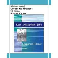 حل المسائل مالی شرکت (راس) (ویرایش هفتم 2004)