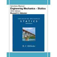 حل المسائل استاتیک (هیبلر) (ویرایش دهم 2003)