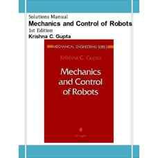 حل المسائل مکانیک و کنترل ربات (گوپتا) (ویرایش اول 1997)