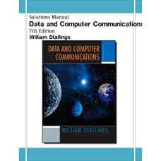 حل المسائل داده ها و ارتباطات کامپیوتری (استالینگز) (ویرایش هفتم 2003)