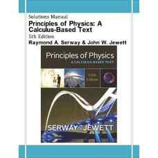 حل المسائل مبانی فیزیک: مبتنی بر حساب دیفرانسیل و انتگرال (سروی و جووت) (ویرایش پنجم 2012)