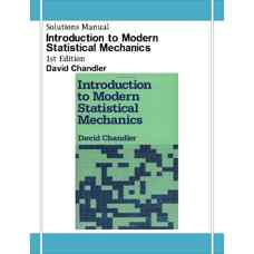 حل المسائل مقدمه ای بر مکانیک آماری مدرن (چندلر) (ویرایش اول 1987)