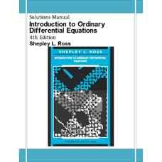 حل المسائل مقدمه ای بر معادلات دیفرانسیل معمولی (راس) (ویرایش چهارم 1989)