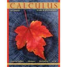 حساب دیفرانسیل و انتگرال: یک متغیره و چندمتغیره (هیوز-هالت، گلیسون و مک کالوم) (ویرایش ششم 2012)