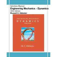 حل المسائل مکانیک مهندسی: دینامیک (هیبلر) (ویرایش دهم 2003)