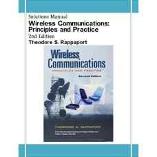 حل المسائل مخابرات بی سیم: اصول و کاربردها (راپاپورت) (ویرایش دوم 2002)
