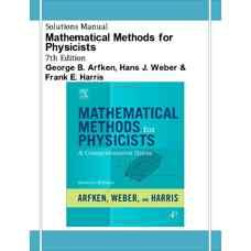 حل المسائل روش های ریاضی برای فیزیکدان ها (ارفکن، وبر و هریس) (ویرایش هفتم 2012)