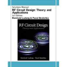 حل المسائل طراحی مدارهای RF: تئوری و کاربردها (لودویگ و برچکو) (ویرایش اول 2000)