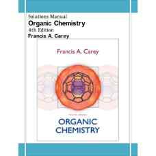 حل المسائل شیمی آلی (کری) (ویرایش چهارم 2000)