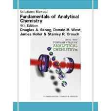 حلالمسائل مبانی شیمی تجزیه (اسکوگ، وست، هولر و کراوچ) (ویرایش نهم 2013)