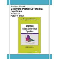 حل المسائل معادلات دیفرانسیل جزئی مقدماتی (اونیل) (ویرایش سوم 2014)