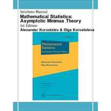 حل المسائل آمار ریاضی: تئوری مینیمکس مجانبی (کوروستلف و کوروستلوا) (ویرایش اول 2011)