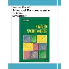 حل المسائل اقتصاد کلان یشرفته (رومر) (ویرایش اول 1995)