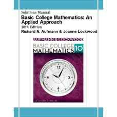 حل المسائل ریاضیات دانشگاهی مقدماتی: رویکردی کاربردی (آفمن و لاکوود) (ویرایش دهم 2013)