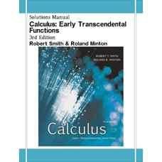 حل المسائل حساب دیفرانسیل و انتگرال: توابع غیرجبری پایه (اسمیت و مینتون) (ویرایش سوم 2007)