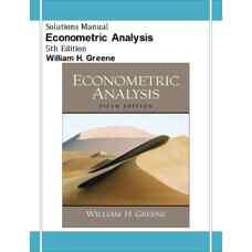 حل المسائل آنالیز اقتصادسنجی (گرین) (ویرایش پنجم 2002)