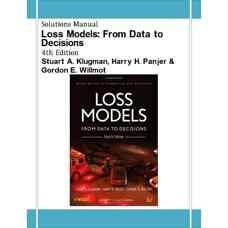 حل المسائل مدل های ضرر و زیان: از داده ها تا تصمیم ها (کلاگمن، پانجر و ویلموت) (ویرایش چهارم 2012)