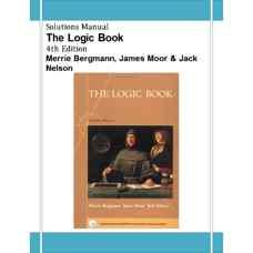 حل المسائل کتاب منطق (برگمن، مور و نلسون) (ویرایش چهارم 2003)
