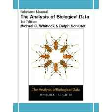 حل المسائل تحلیل داده های زیست شناسی (ویتلاک و شالتر) (ویرایش اول 2008)