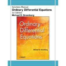 حل المسائل معادلات دیفرانسیل معمولی (گرینبرگ) (ویرایش اول 2012)