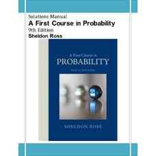 حل المسائل مقدمه ای بر احتمال (راس) (ویرایش نهم 2012)