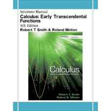 حل المسائل حساب دیفرانسیل و انتگرال: توابع غیرجبری پایه (اسمیت و مینتون) (ویرایش چهارم 2011)